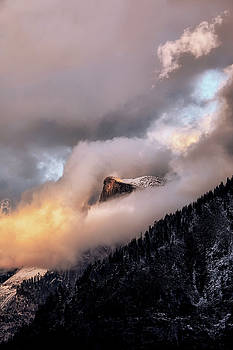 Cloud Madness, Half Dome by Vincent James