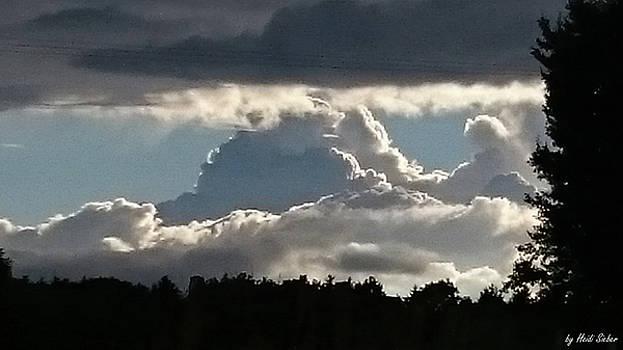 Heidi Sieber - Cloud mountains
