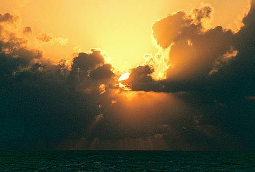 Cloud Offering In The Gulf Of Mexico by Michael Hoard