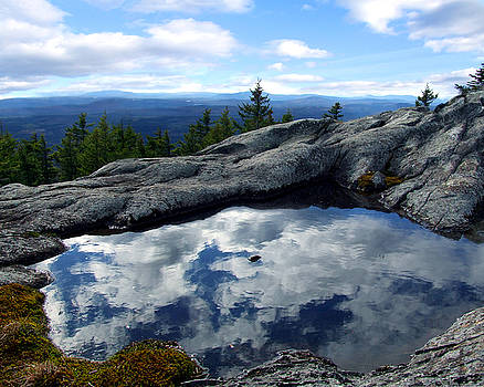 Cloud Pool on Borestone Mountain by Diana Ludwig
