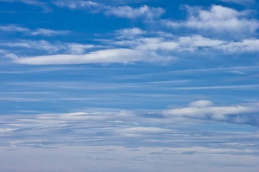 Sandra Foster - Cloud Streaked Blue Sky