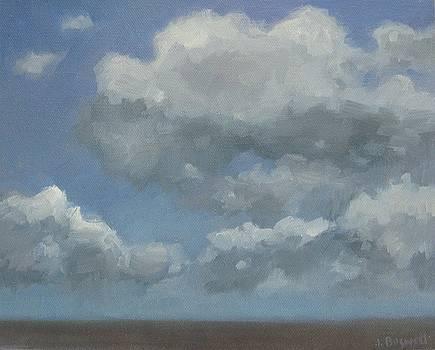 Cloud Study Series Three by Jennifer Boswell