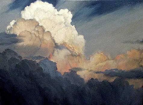 Cloud Study by David Simons