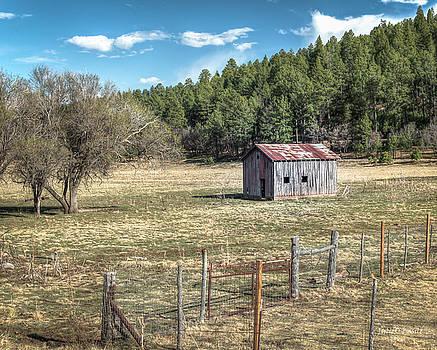 Cloudcroft Barn by Julie Basile