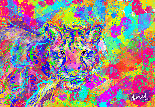 Clouded Leopard  by Morgan Richardson