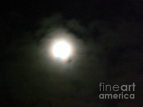 Clouded Moon by Iris Newman