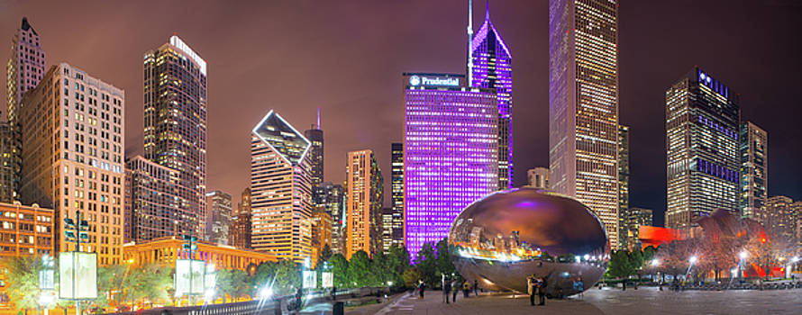 CloudGate Night Panorama by Kevin Eatinger