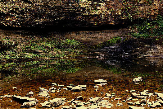 Jason Blalock - Cloudland Canyon Reflection