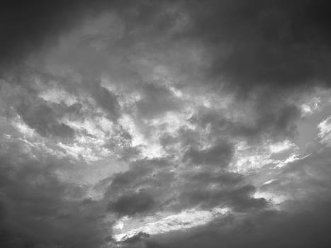 Leif Sohlman - Clouds 1 BW #f7