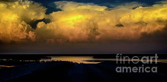 Clouds - 5856b by Debra Kewley