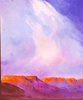 Anne-elizabeth Whiteway - Clouds about the Mesas
