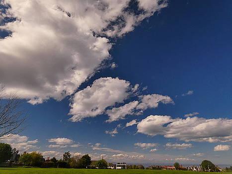 Clouds Above JQP by Nik Watt