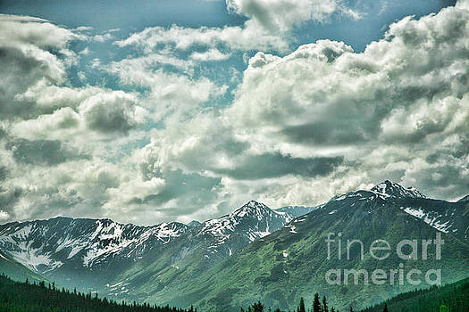Chuck Kuhn - Clouds Alaska Mtns