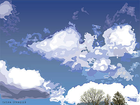 Blue Afternoon by Susan Spangler