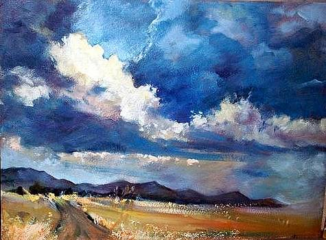 Clouds are gathering by Estelle Hartley