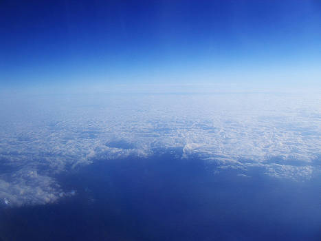 Clouds from the plane VI by Emiliano Giardini