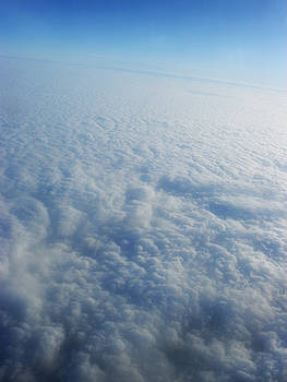 Clouds from the plane VII by Emiliano Giardini