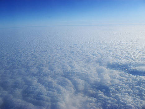 Clouds from the plane VIII by Emiliano Giardini
