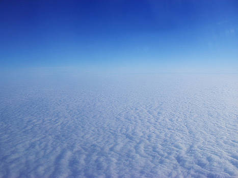 Clouds from the plane XI by Emiliano Giardini