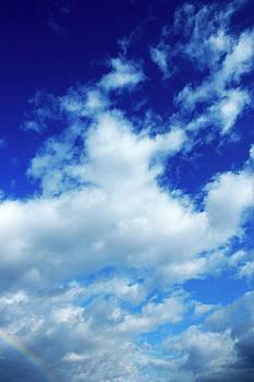 Sami Sarkis - Clouds in a beautiful blue sky