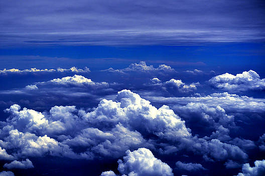 Bliss Of Art - Clouds in blue