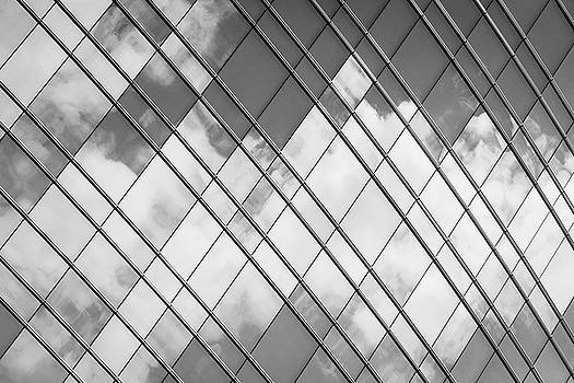 Clouds on a Skyscraper - Milan / Italy by Massimo Mazza