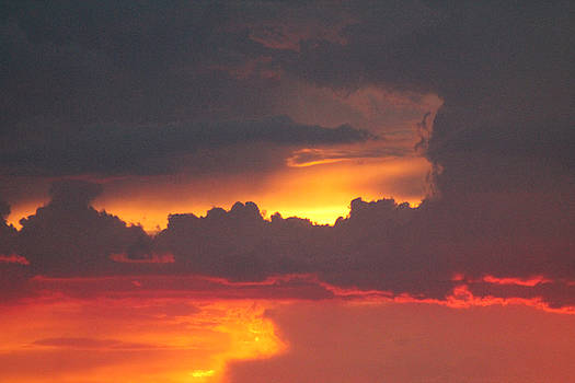 Clouds on Fire by Kathleen Nash