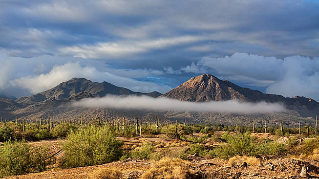 Clouds On The Mountain by Ryan Seek