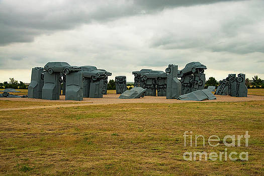 Bob Phillips - Clouds over Carhenge