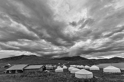 Clouds over Ger camp by Hitendra SINKAR