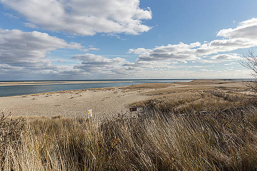 Clouds over Lighthouse Beach in Chatham Massachusetts by Brian MacLean