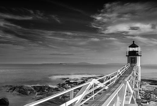 Ranjay Mitra - Clouds over Marshall Point Lighthouse in Maine