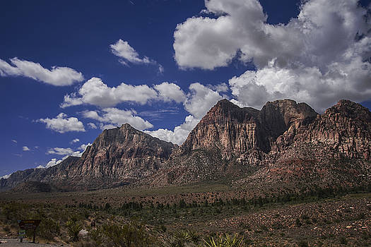 Clouds Over Red Rock Canyon by Margaret Guest