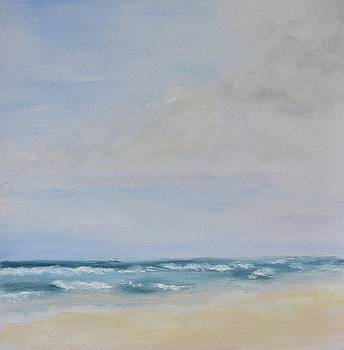 Clouds over the atlantic by Emily Warren