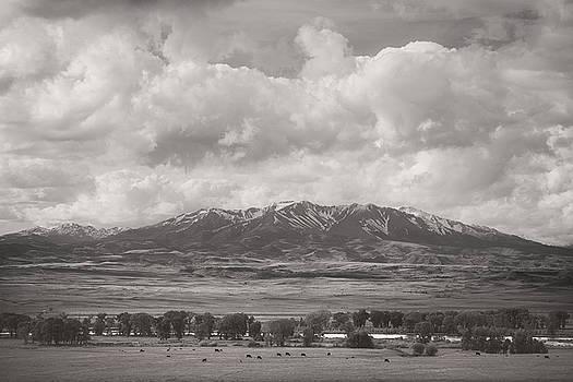 Scott Wheeler - Clouds over the Crazy Mountains