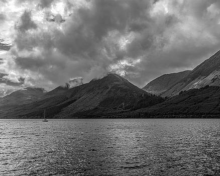 Chris Coffee - Clouds over Loch Lochy, Scotland