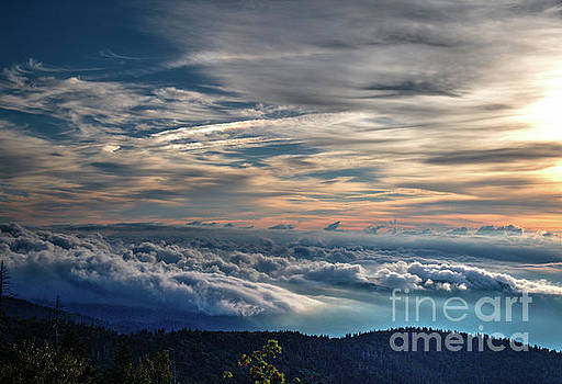 Clouds Over the Smoky's by Douglas Stucky