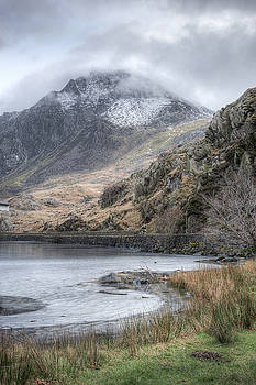 Clouds over Tryfan by Christine Smart