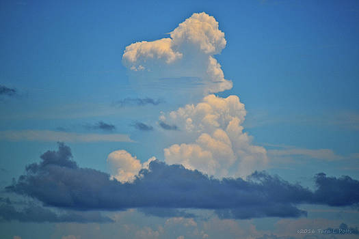 Clouds over Tybee Island by Tara Potts