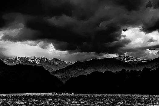 David French - Clouds over Ulswater Lake District
