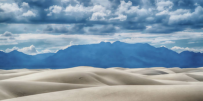 Guy Shultz - Clouds Over White Sands