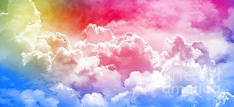 Clouds Rainbow - Nuvole Arcobaleno by Zedi