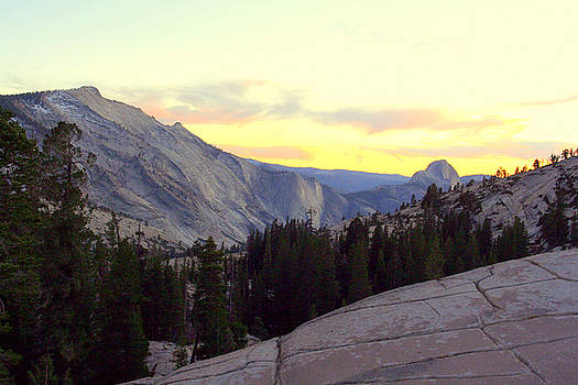 Lynn Bawden - Clouds Rest and Half Dome