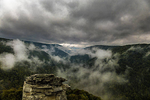 Clouds rising at Lindy Point by Jorge Perez - BlueBeardImagery