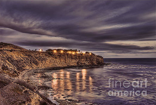 Clouds Sweeping Over Point Fermin by Nick Carlson