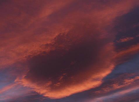 Vyacheslav Isaev - Orange cloud on purple sky