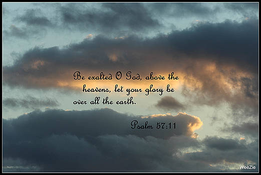 Clouds With Scripture by Carolyn Ricks