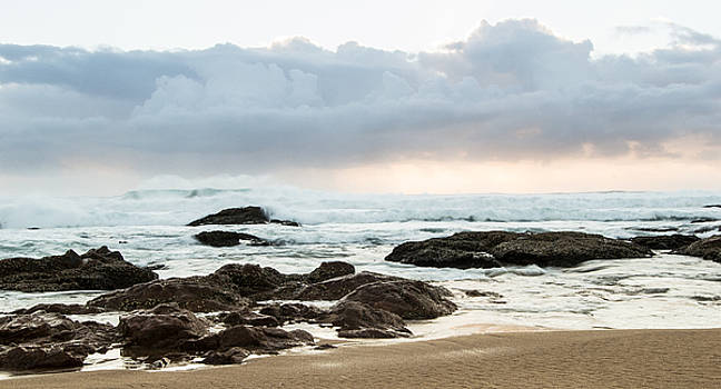 Cloudy beach morning by Jesse Coutts