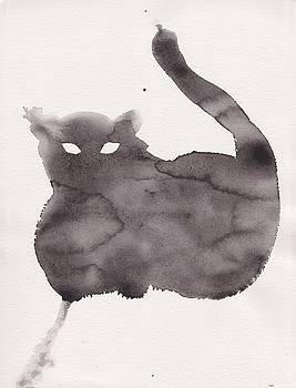 Cloudy Cat by Marc Philippe Joly