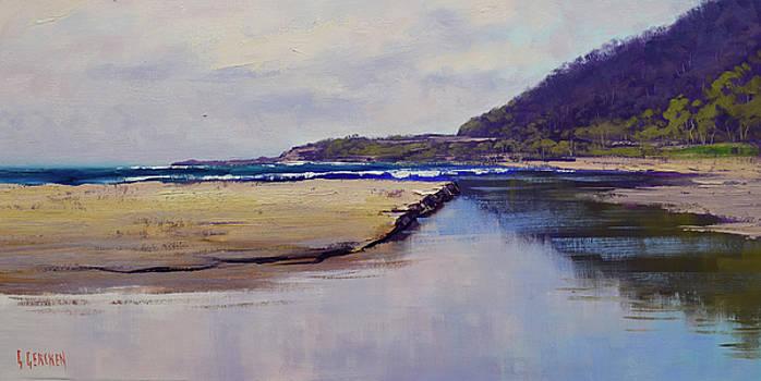 Cloudy Coastline by Graham Gercken